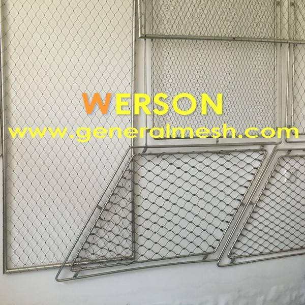 generalmesh Filet en inox , Clôtures , Garde-corps filet Inox pour ...