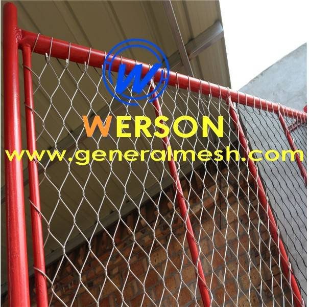 generalmesh filet en inox cl tures garde corps filet inox pour fa ade hebei general metal. Black Bedroom Furniture Sets. Home Design Ideas