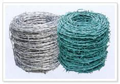 barbed wire,single twisted barbed wire,double twisted wire,pvc coated barbed wire,galvanized barbed wire