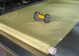 brass wire cloth for chinaware printing