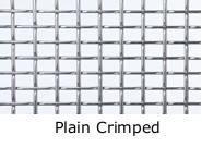 Plain Crimped Wire Mesh
